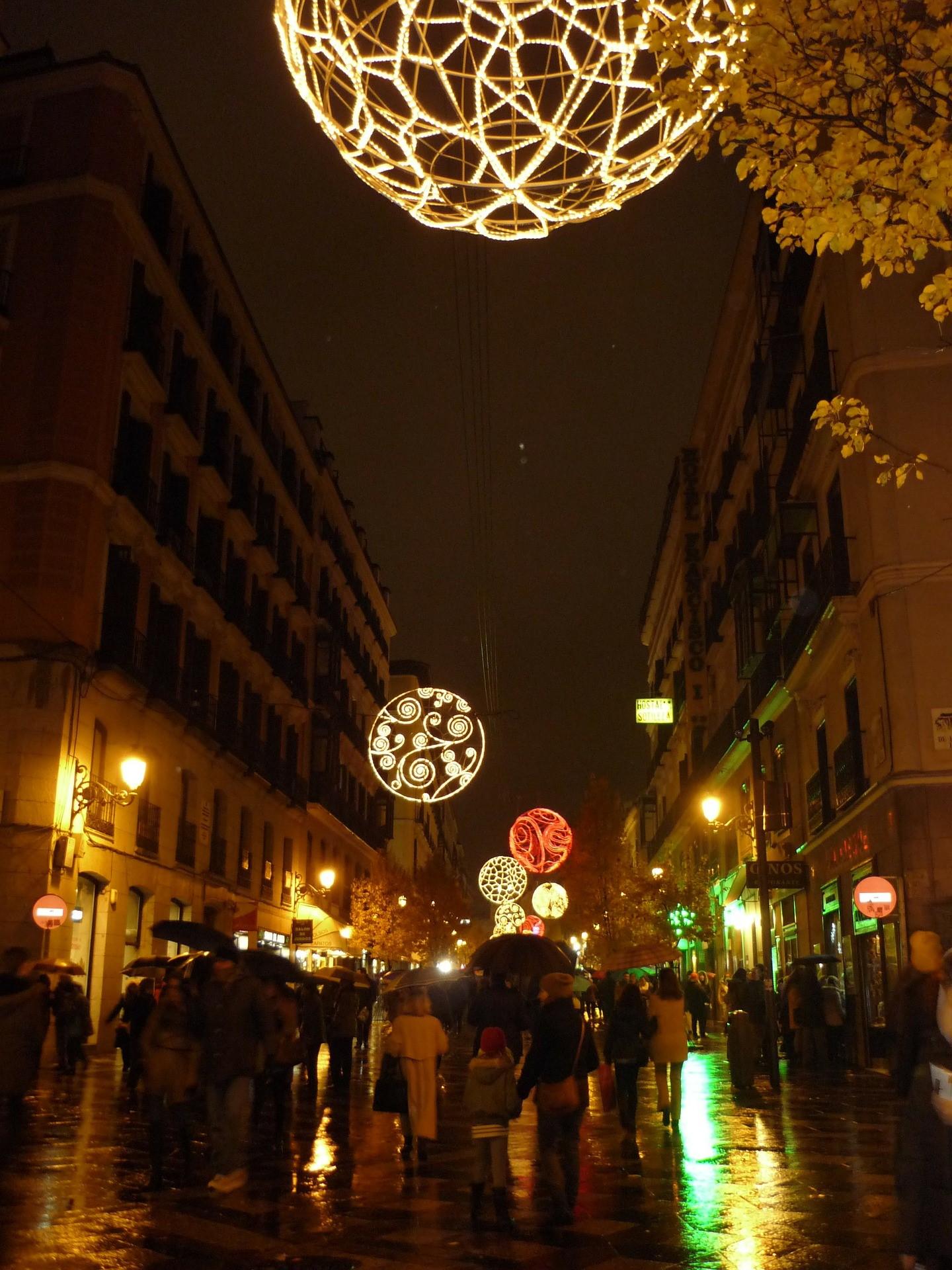 圣诞节的马德里