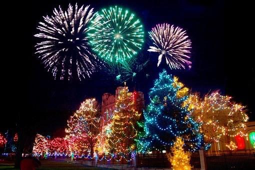 クリスマス色に染まるマドリード