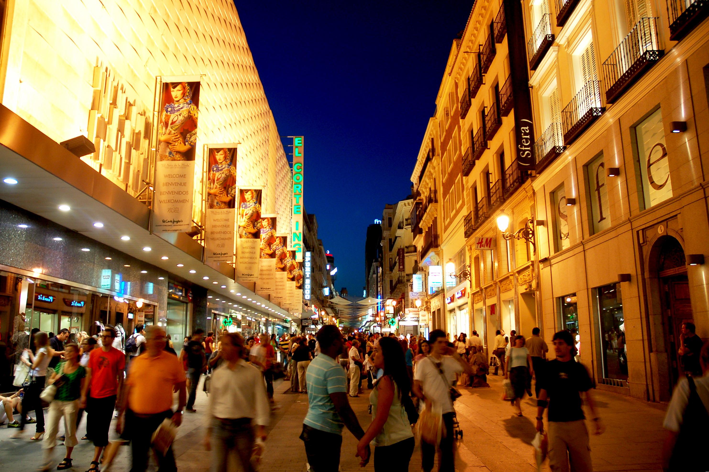 Ruta de compras por Madrid