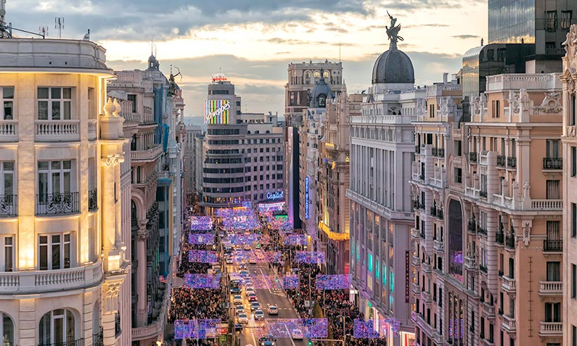 The best shopping streets in Madrid