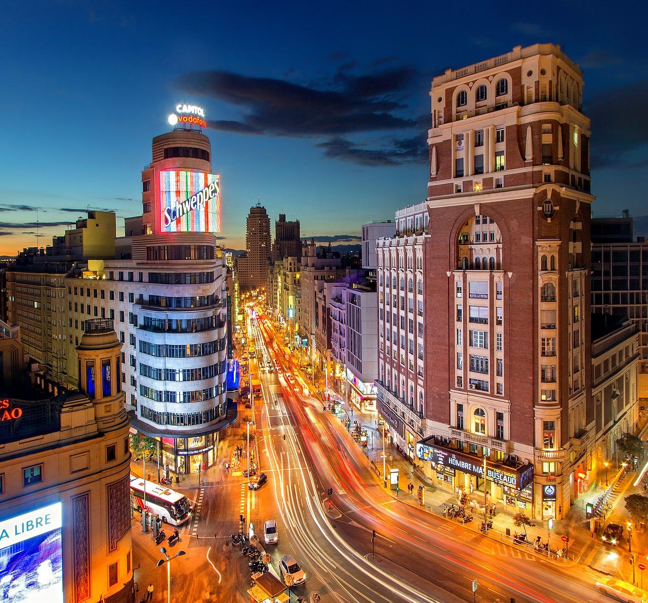 Madrid desde arriba